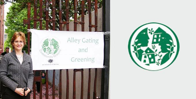Alley Gating and Greening