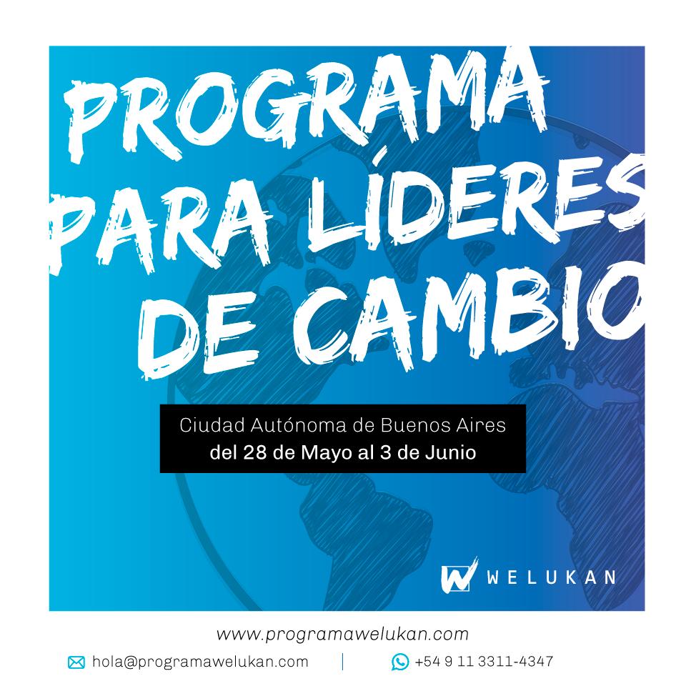 Welukan, programa para líderes de cambio